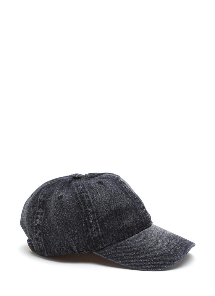Denim Dame Washed Baseball Cap