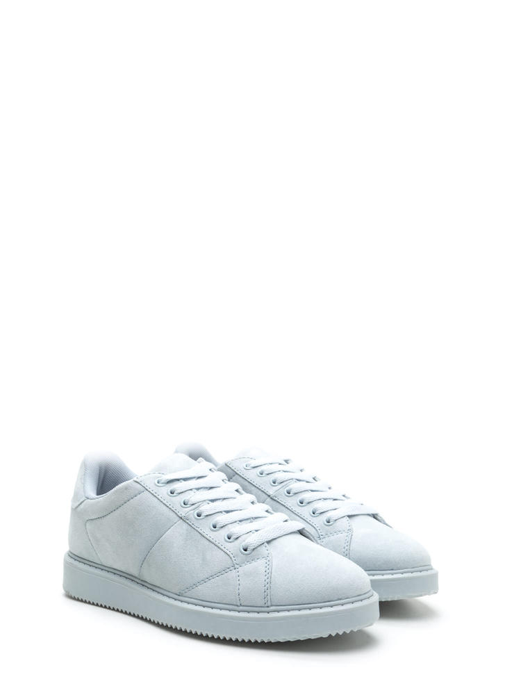 Street Style Elite Lace-Up Sneakers BLUE