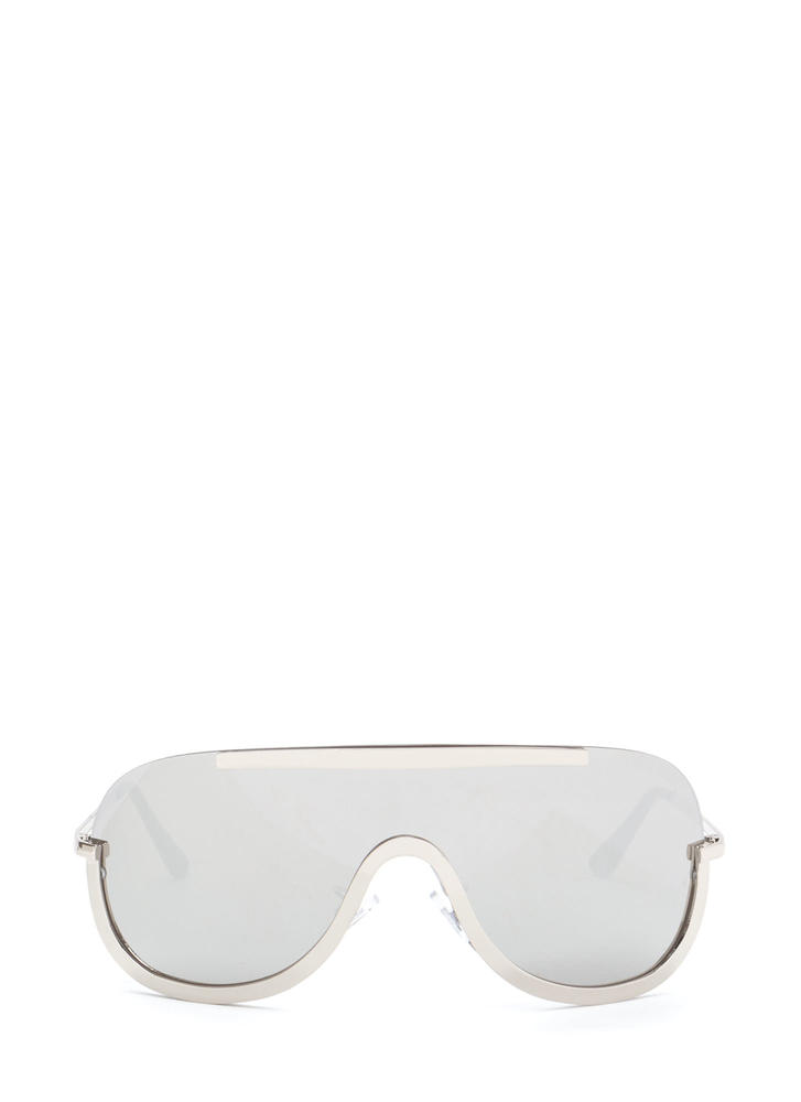 Bold 'N Beautiful Shield Sunglasses