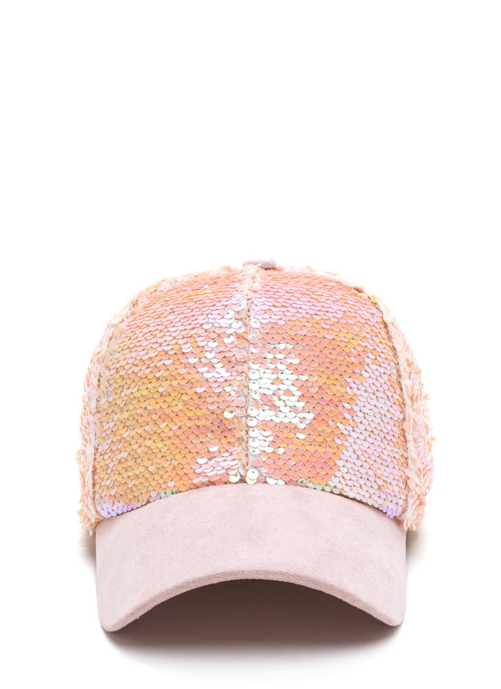 Take It From The Top Sequined Cap