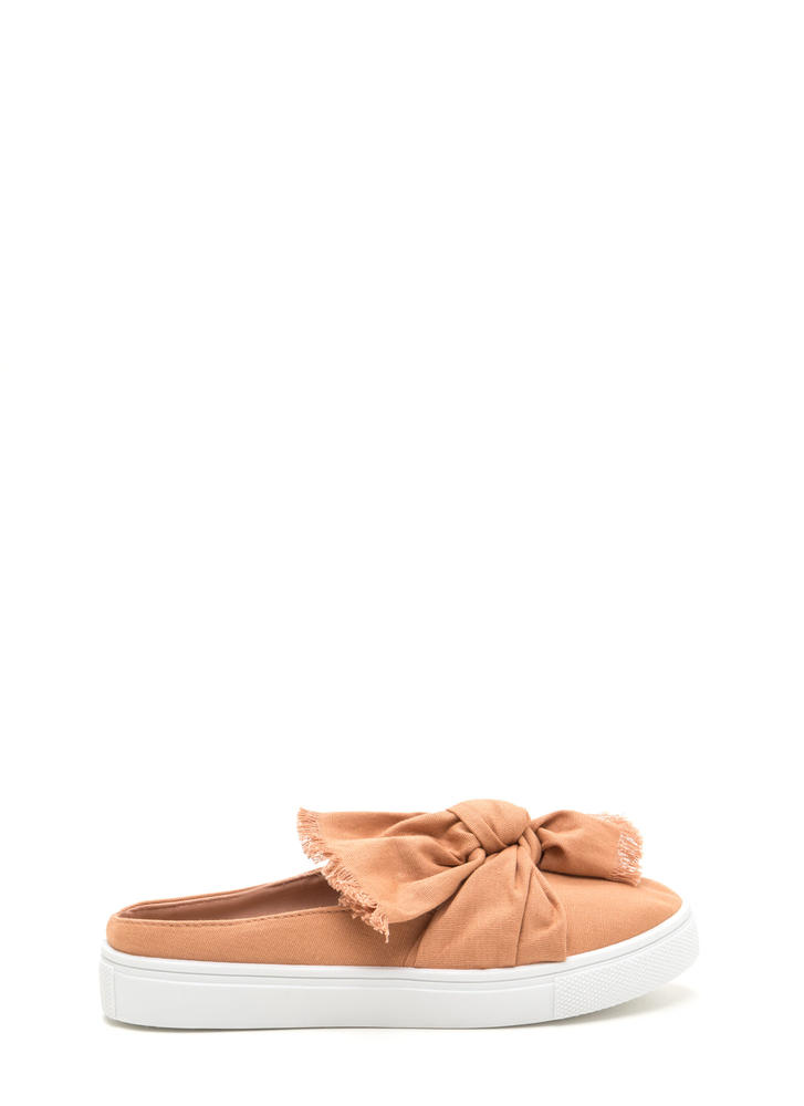 Tie It Together Canvas Slide Flats