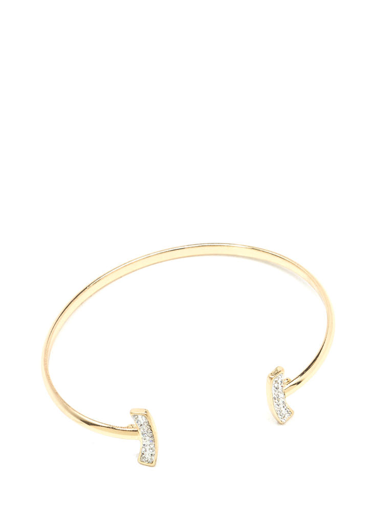 Tenacious T Jeweled Bar Bracelet