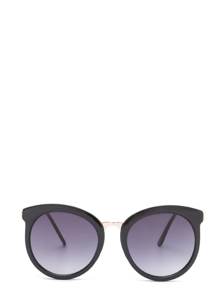 Major Style Rounded Sunglasses