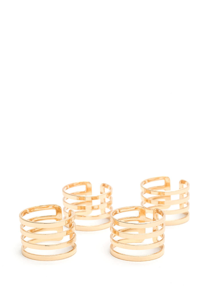 Make The Cut-Out Stacked Ring Set