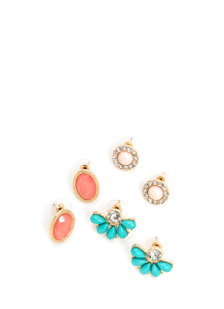 Updated Classics Sparkly Earring Set
