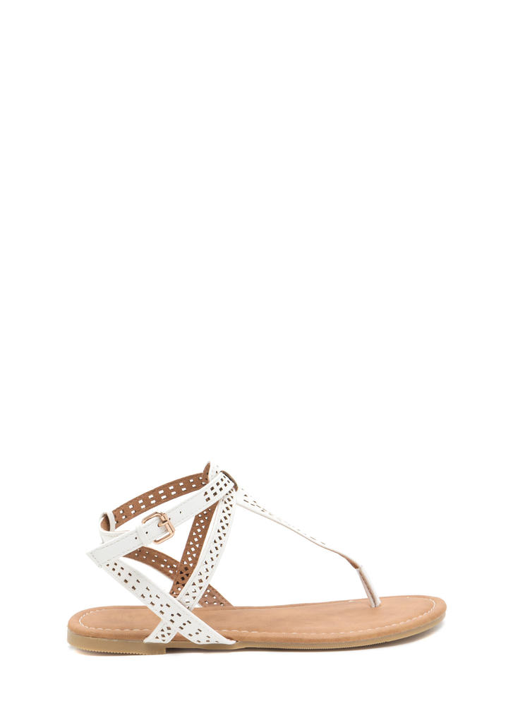 Style Squad Perforated Sandals
