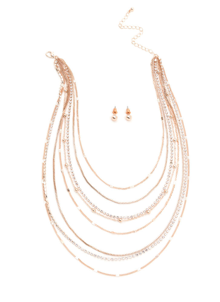 Light Layers Dainty Chain Necklace Set
