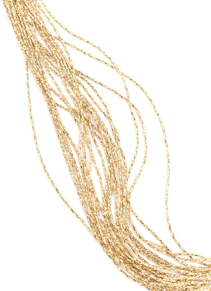 Expert Layer Multi-Chain Necklace GOLD