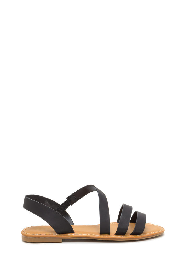 Picture Perfect Strappy Sandals