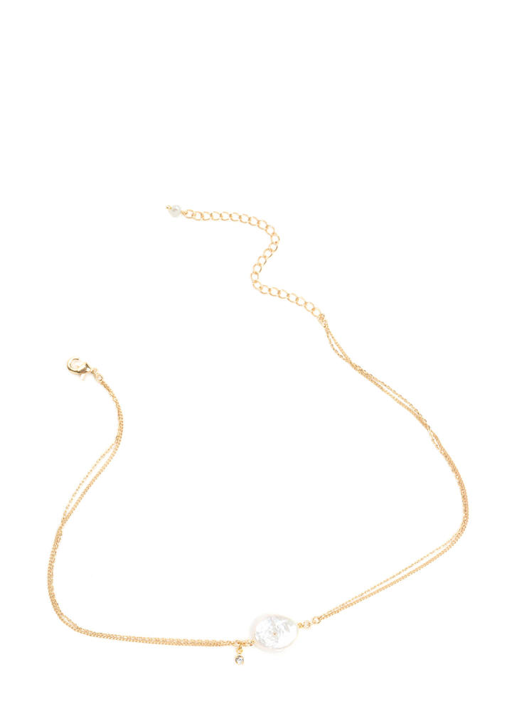 Live The Gleam Dainty Charm Necklace