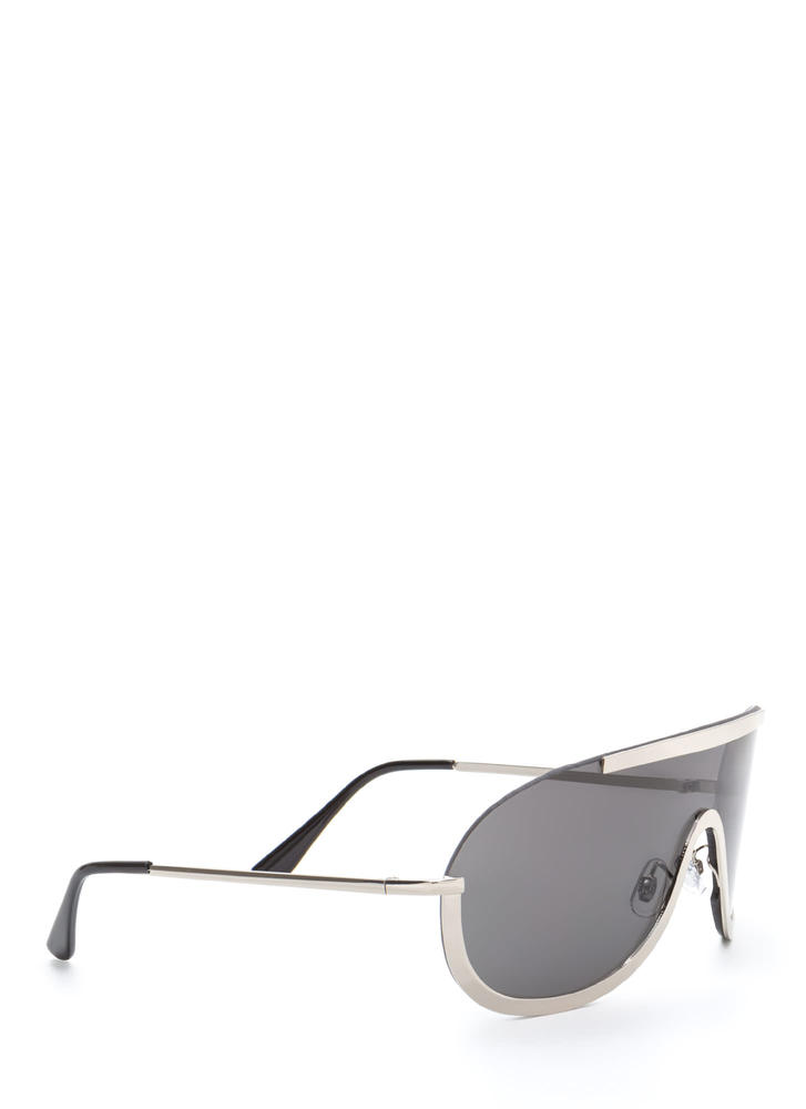 Shield Your Fate Sunglasses BLACKSILVER