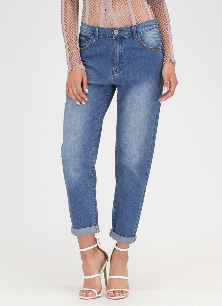 Fly Street Style Washed Jeans