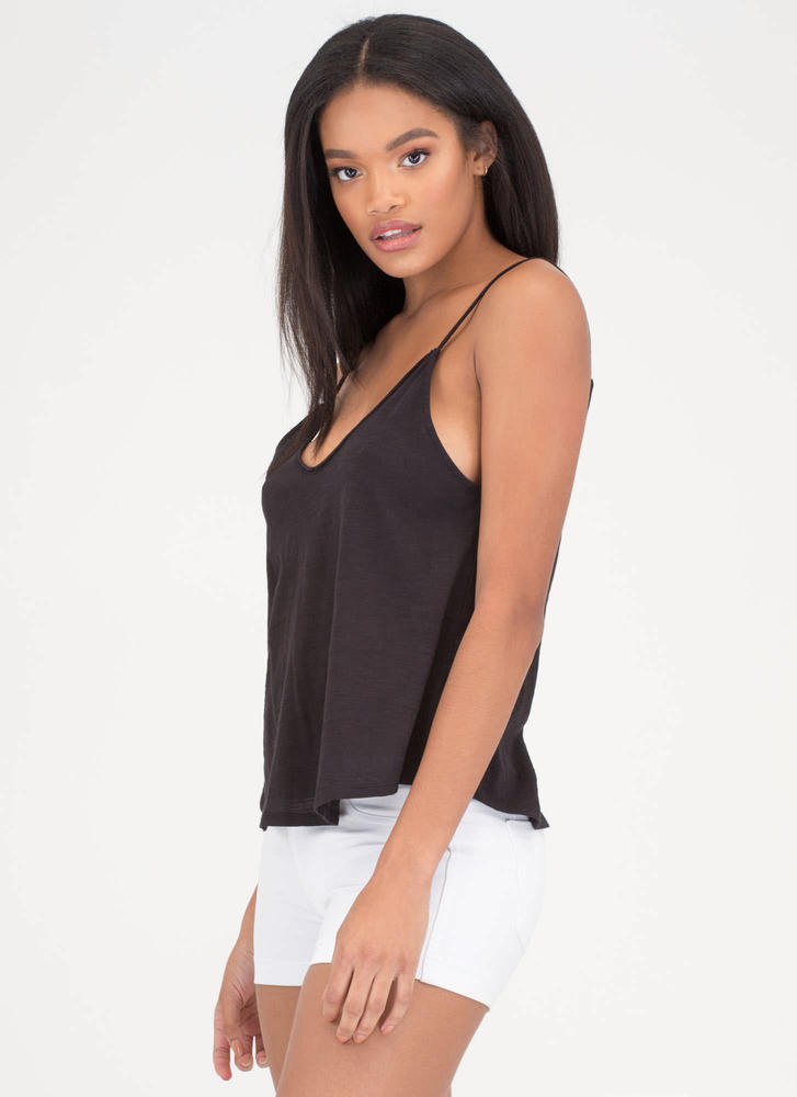 Day And Night Plunging Swing Tank BLACK