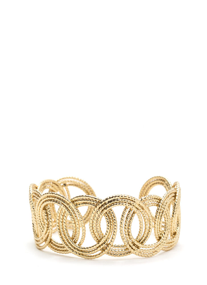 Ring Of Truth Shiny Cuff Bracelet