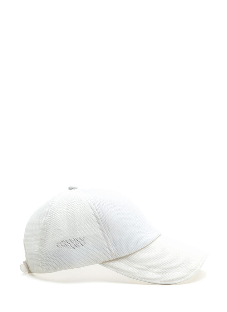 Clean A Mesh Sheer Baseball Hat