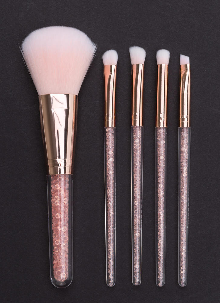 Face Value Glitzy Makeup Brush Set