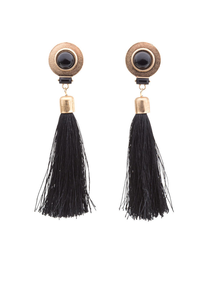 Go For Bold Tassel Earrings
