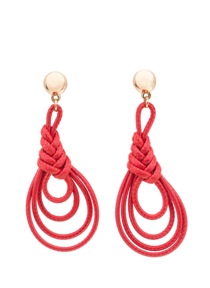 Daytime Darling Looped Earrings