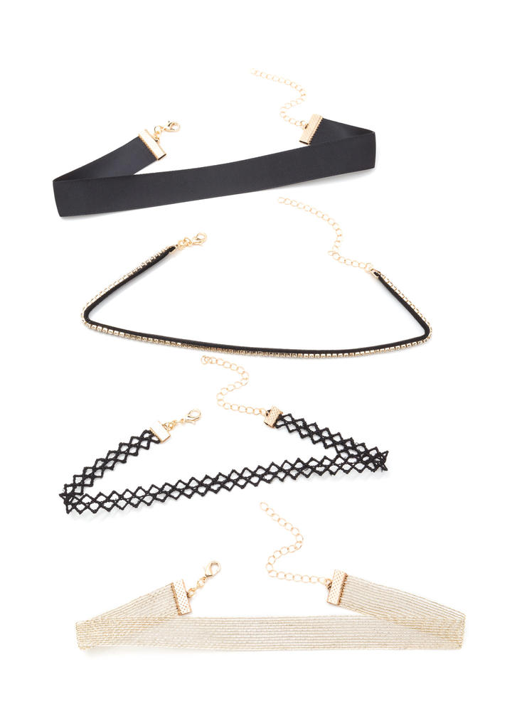 Style Four-ever Choker Set