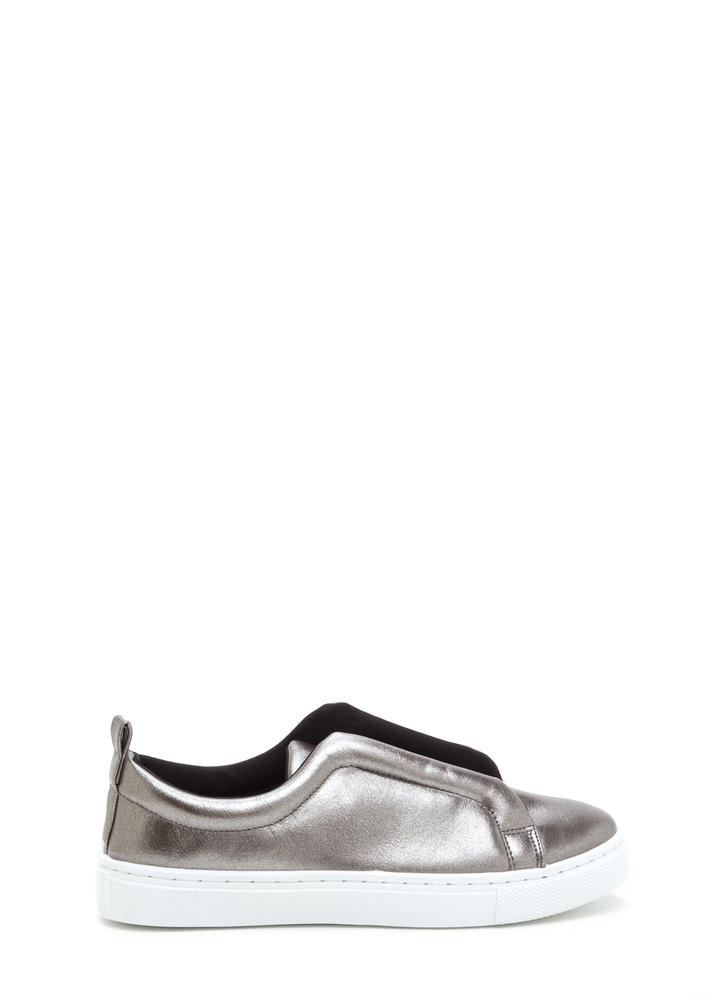 It Pick Metallic Slip-On Sneakers
