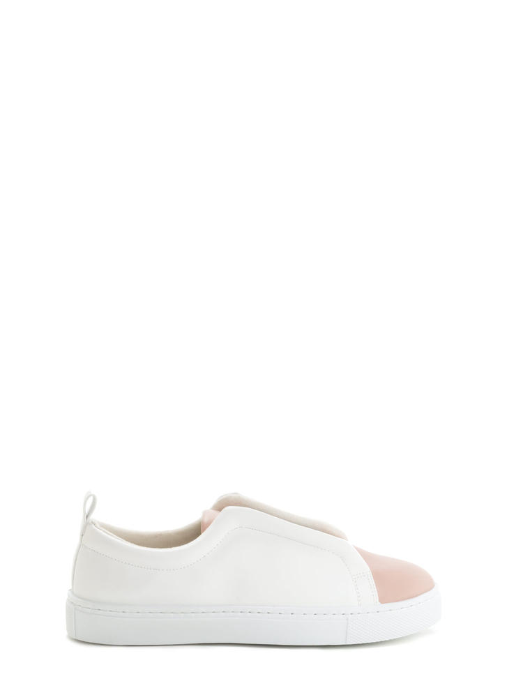 It Pick Two-Tone Slip-On Sneakers