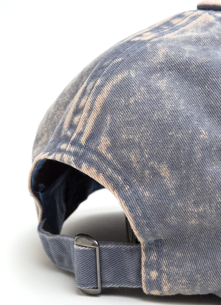 Signs Of Distress Washed Baseball Hat BLUE