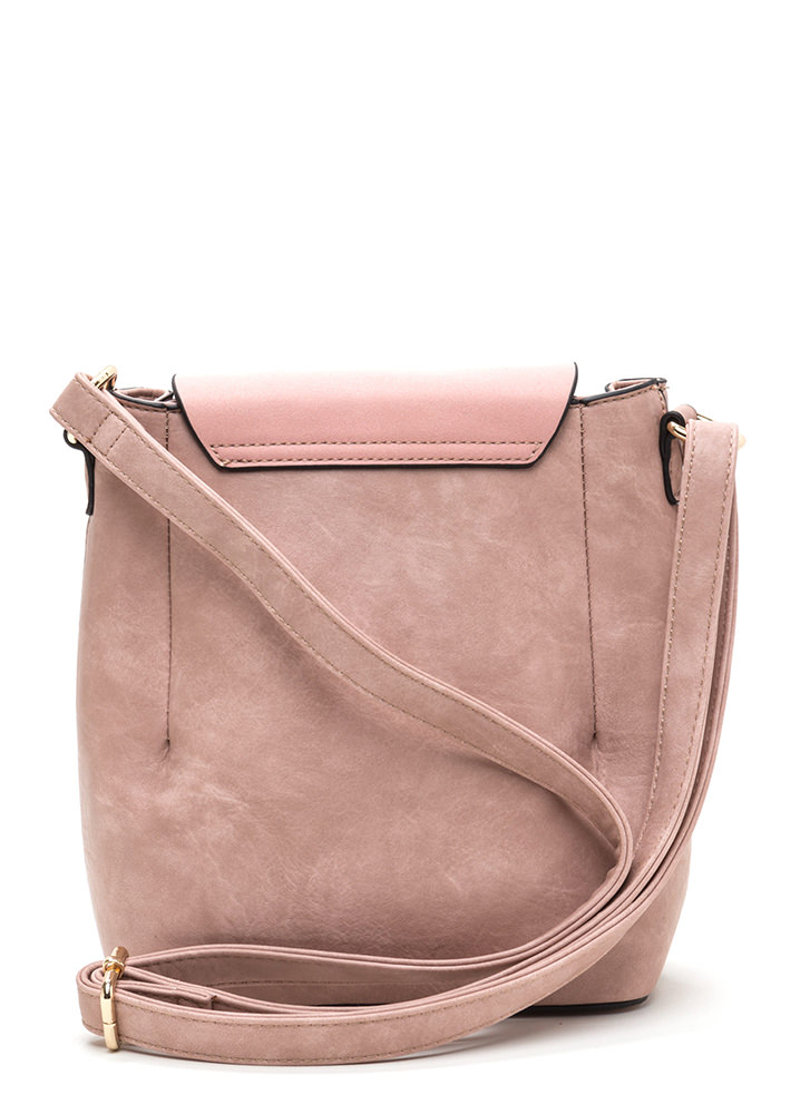 Ring Back To Life Double Zip Bag ROSE