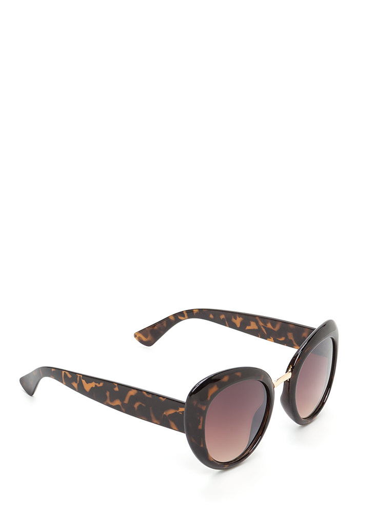 My Own Little Bubble Sunglasses BROWN