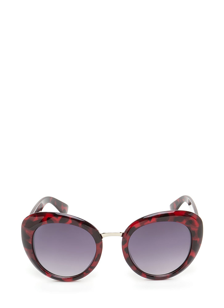 My Own Little Bubble Sunglasses RED