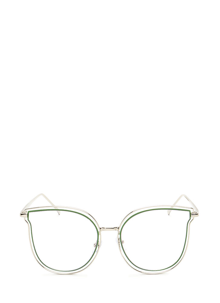 Fashionista Approved Brow Bar Sunglasses CLEAR
