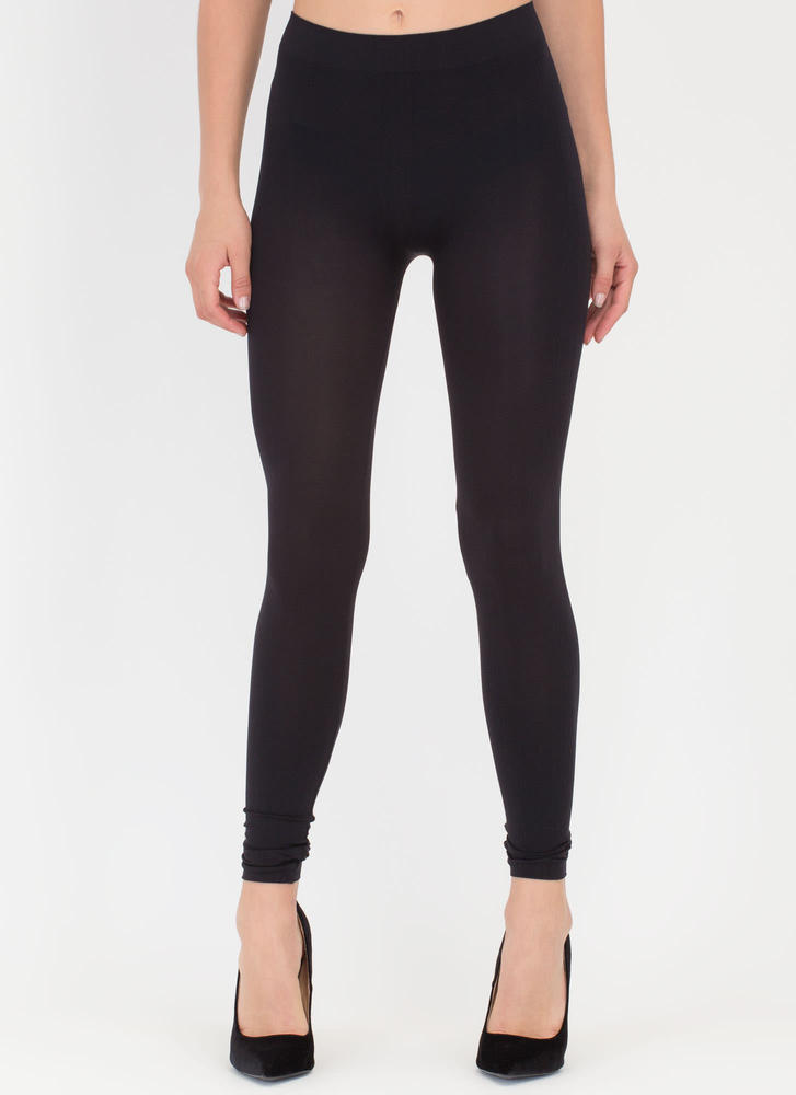 Seamless Leggings BLACK
