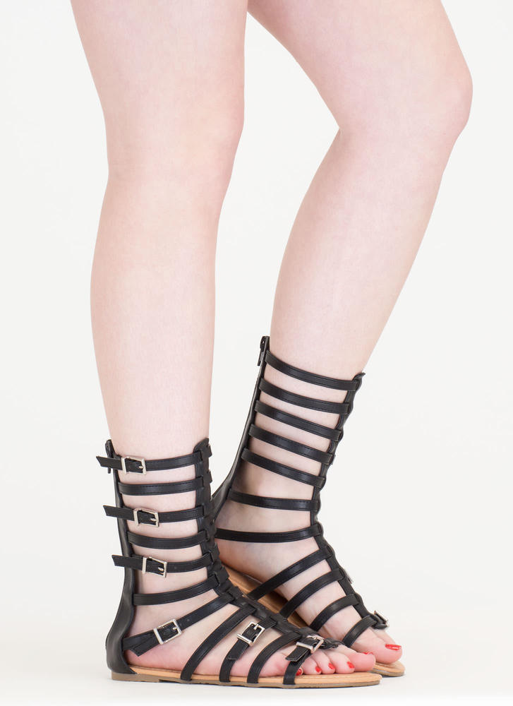 Arena Allure Gladiator Sandals BLACK